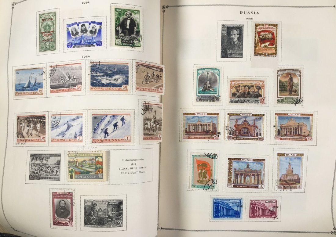 Postage Stamp Collection, RUSSIA - 7