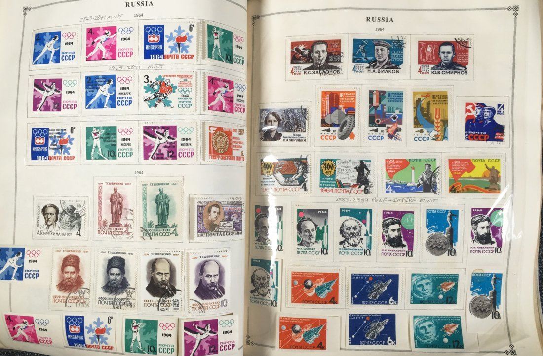 Postage Stamp Collection, RUSSIA - 8