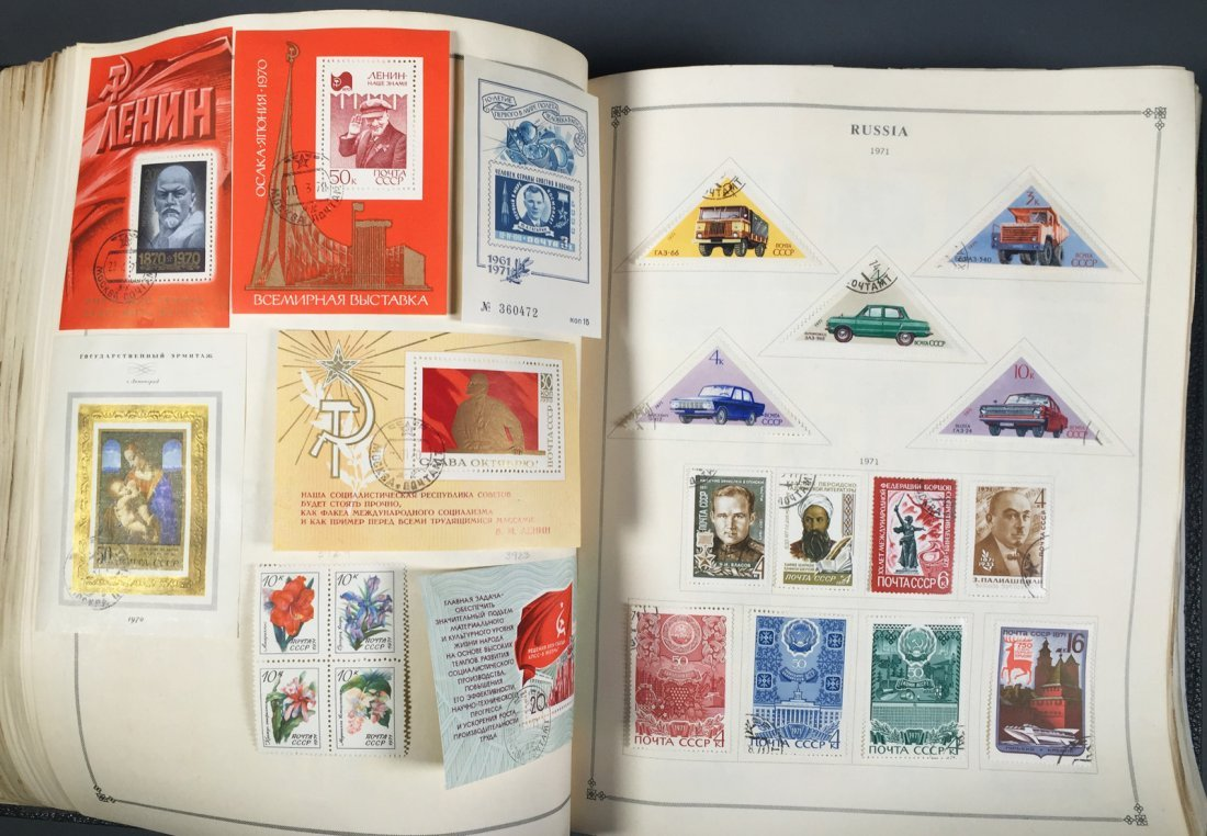 Postage Stamp Collection, RUSSIA - 9