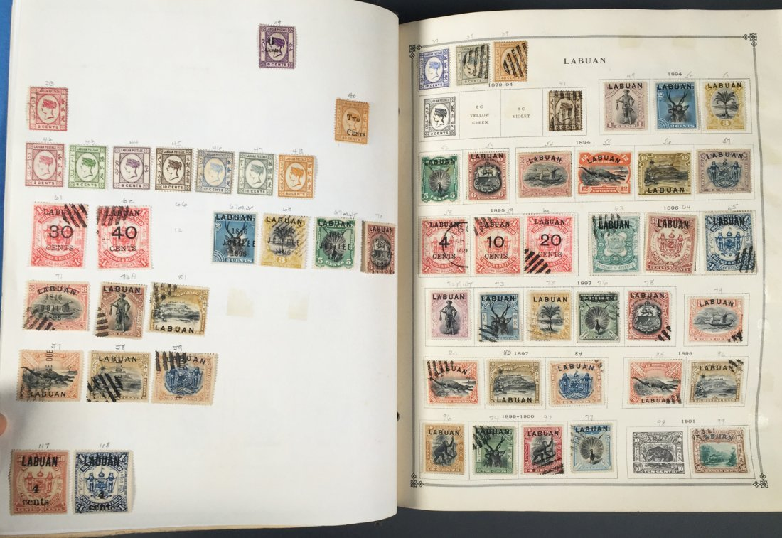 Postage Stamp Collection, Scott Specialty albums - 2