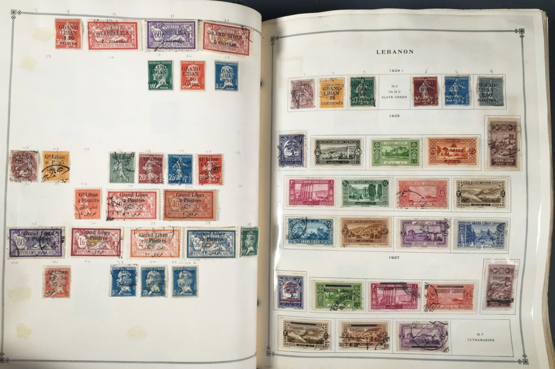Postage Stamp Collection, Scott Specialty albums - 4