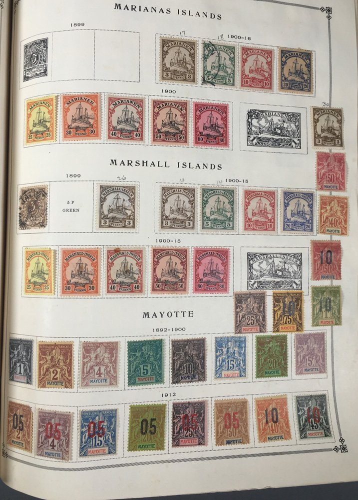 Postage Stamp Collection, Scott Specialty albums - 7