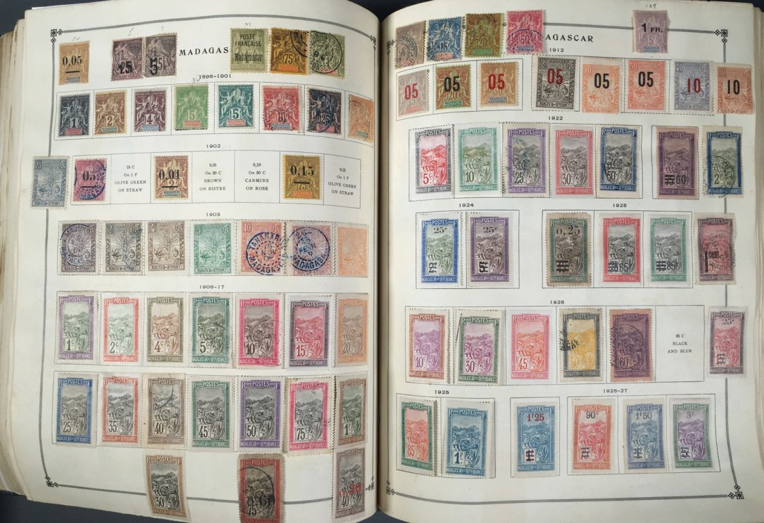 Postage Stamp Collection, Scott Specialty albums - 8