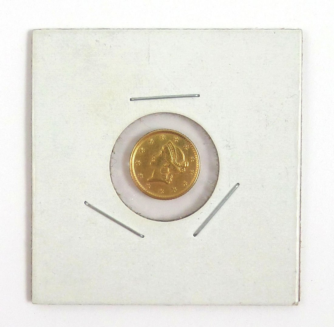 1853 $1 U.S. Gold Coin