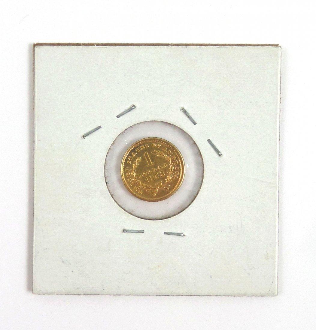 1853 $1 U.S. Gold Coin - 2
