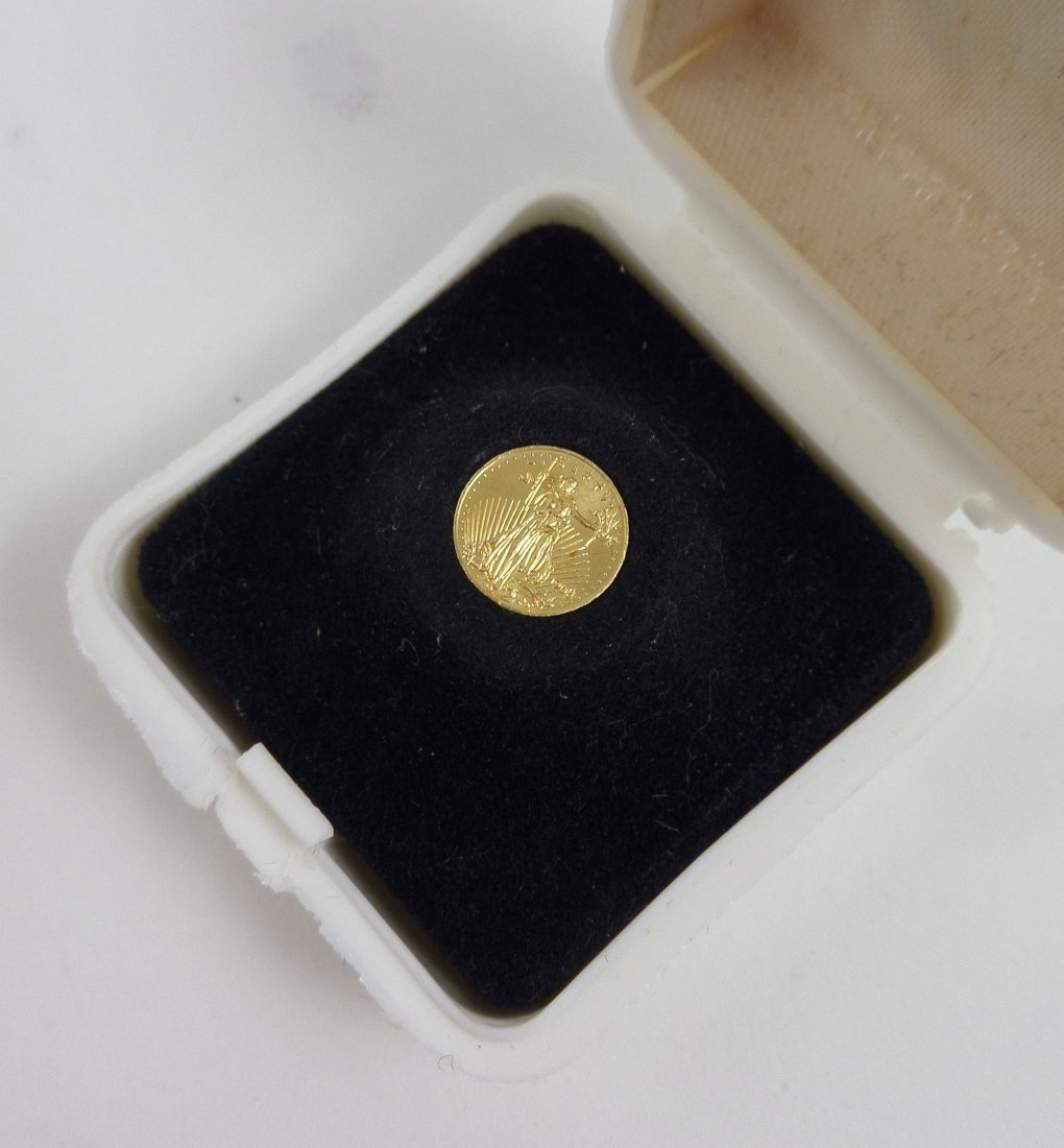 Two Miniature ST. GAUDENS $20 Gold Pieces - 3