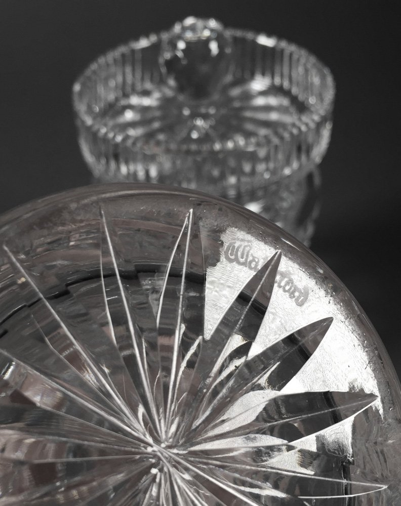 Pair of Waterford Crystal Jam Jars - 3