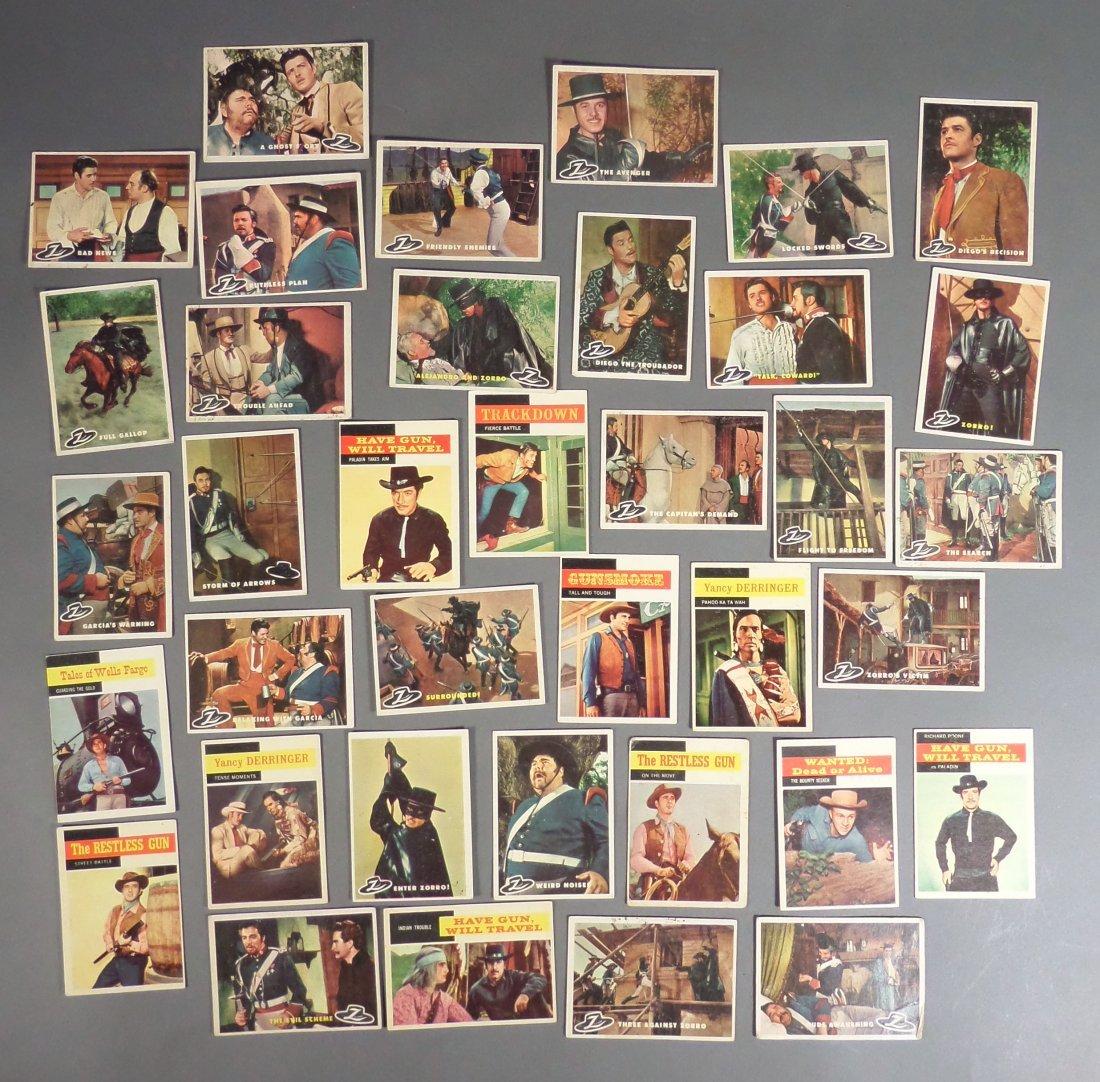 1960s Zorro & TV Trading Cards, Gunsmoke