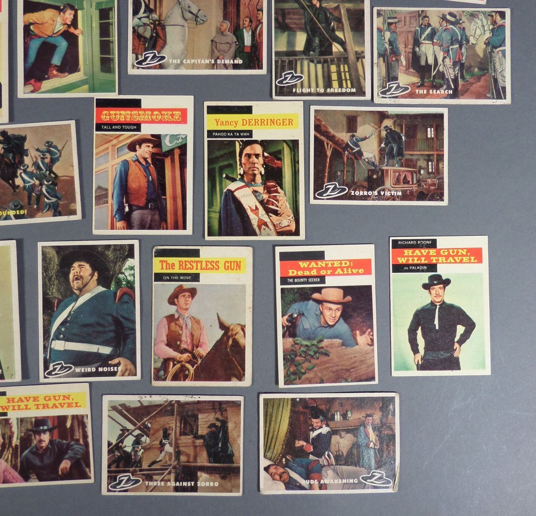 1960s Zorro & TV Trading Cards, Gunsmoke - 3