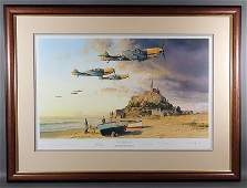 ROBERT TAYLOR German WWII Aces Signed Print