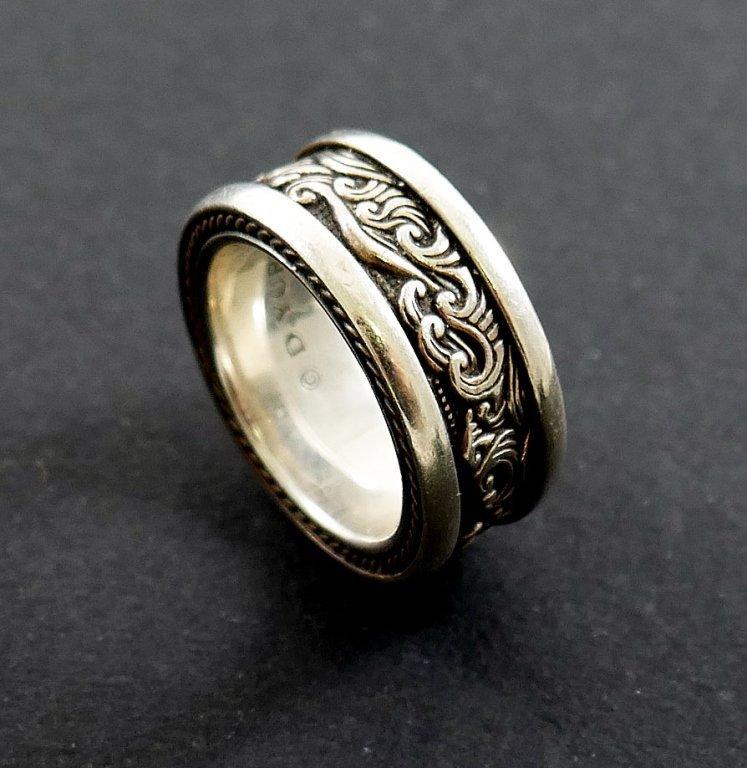 DAVID YURMAN Waves Men's Sterling Silver Ring