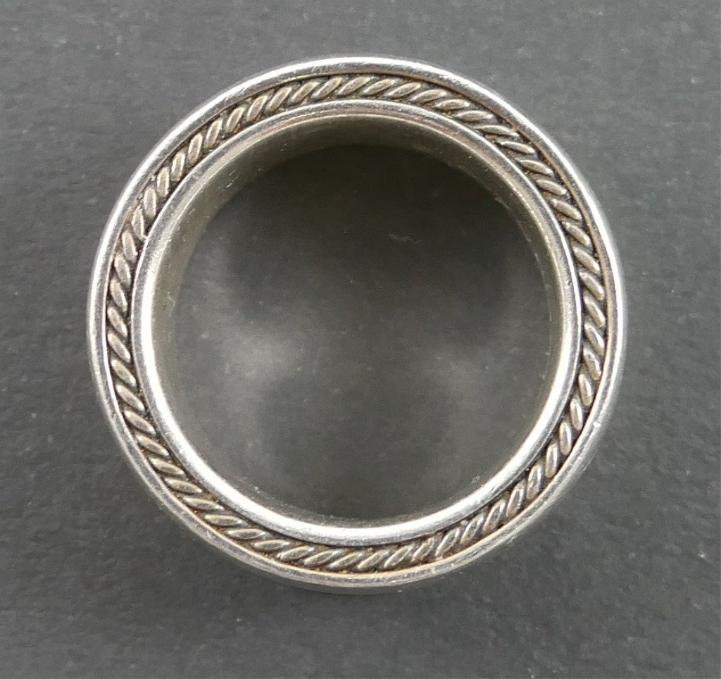 DAVID YURMAN Waves Men's Sterling Silver Ring - 6