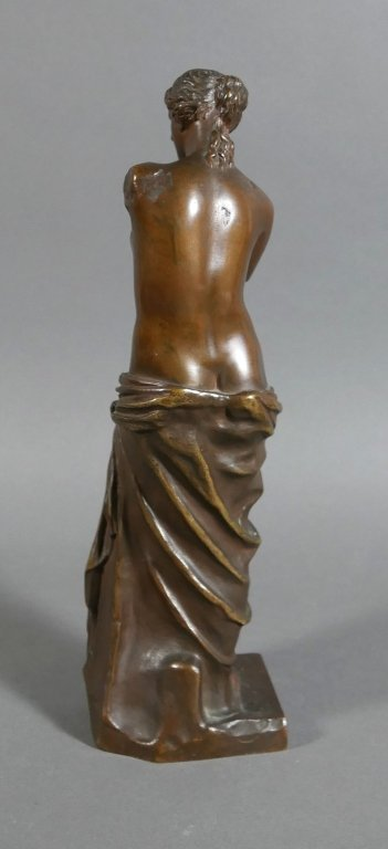 RON COLLAS Venus de Milo Bronze Statue - 4