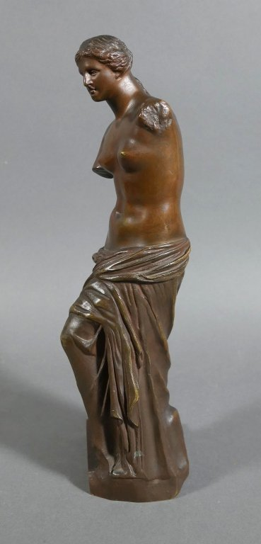 RON COLLAS Venus de Milo Bronze Statue - 5