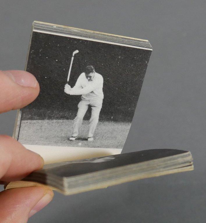 Rare Vintage Golf FLIP BOOKS - 2