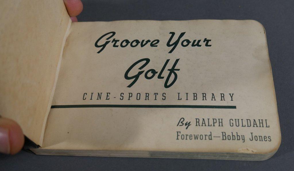 Rare Vintage Golf FLIP BOOKS - 4