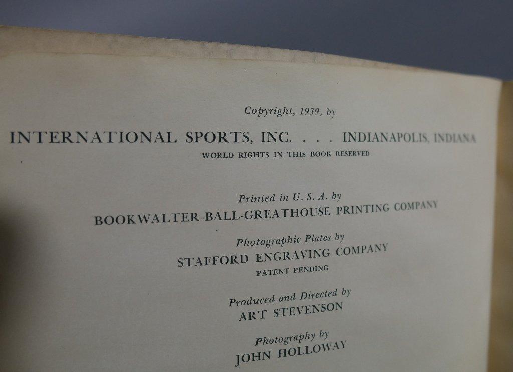 Rare Vintage Golf FLIP BOOKS - 5