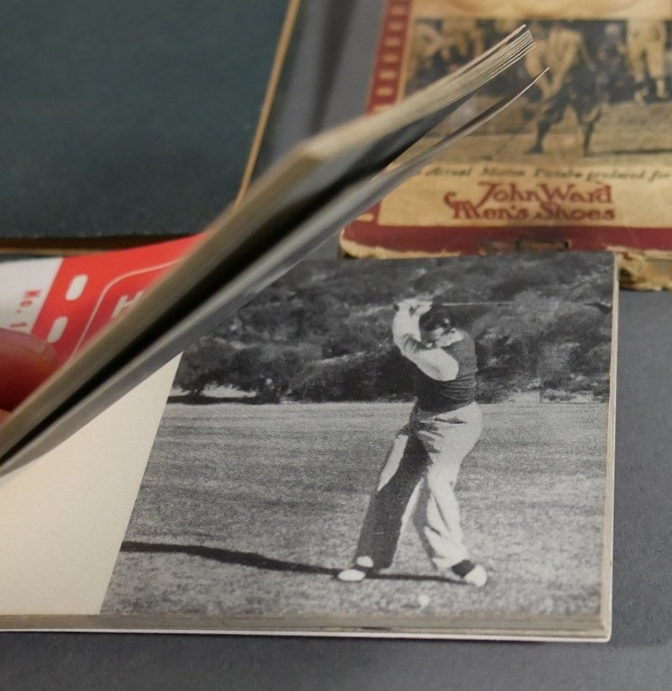 Vintage Golf FLIP BOOKS, 1919 Rules of Golf book - 2