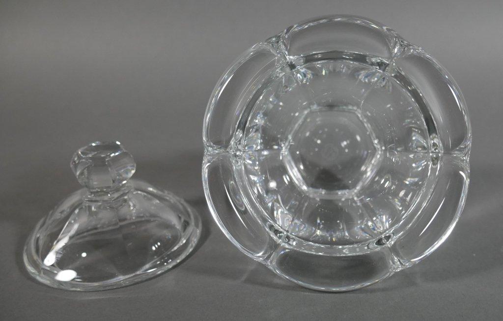 BACCARAT Crystal Lidded Condiment Jam Jar - 4