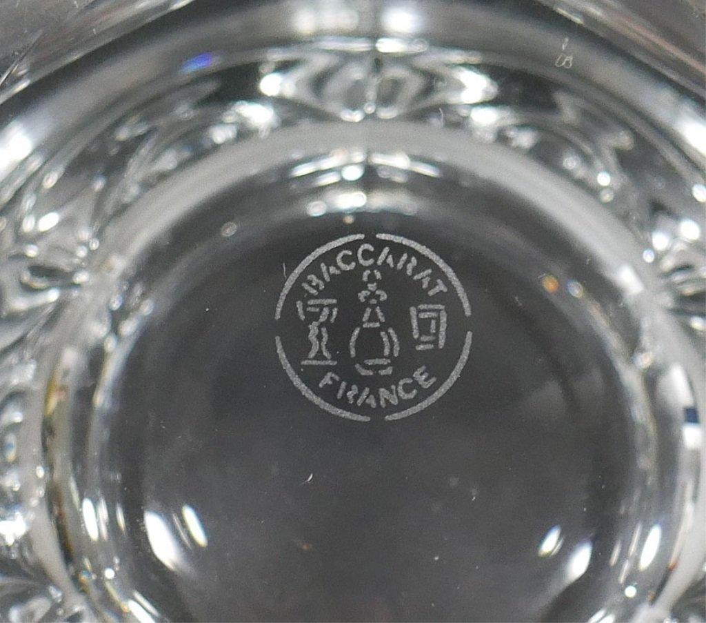 BACCARAT Crystal Lidded Condiment Jam Jar - 5