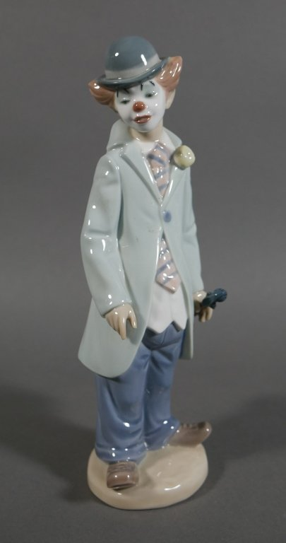 Lladro CIRCUS SAM Clown with Violin Figurine