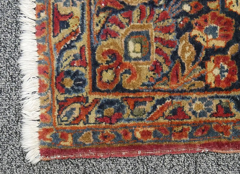Antique SAROUK Rug 9x11 - 3