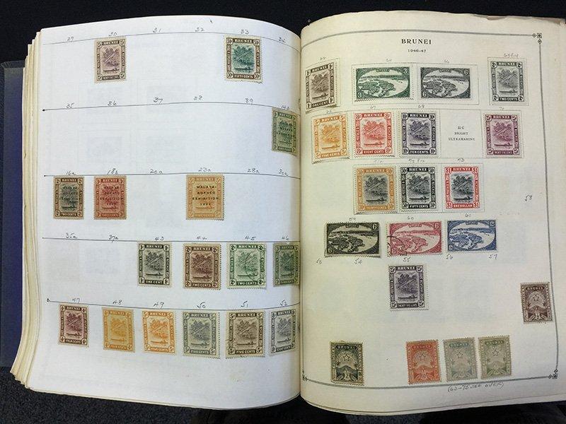 Postage Stamp Album BRAZIL Bolivia Brunei - 10