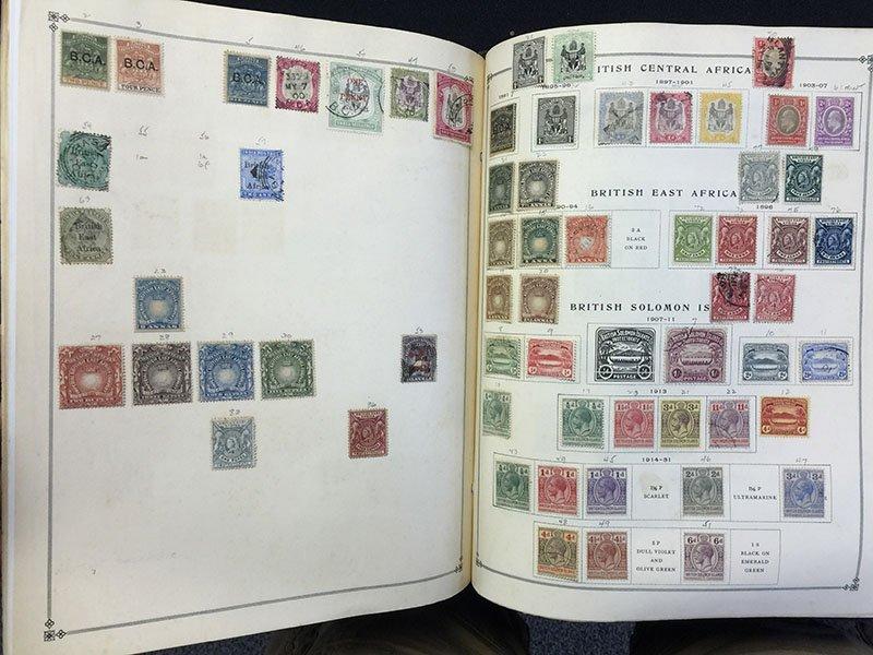 Postage Stamp Album BRAZIL Bolivia Brunei - 6