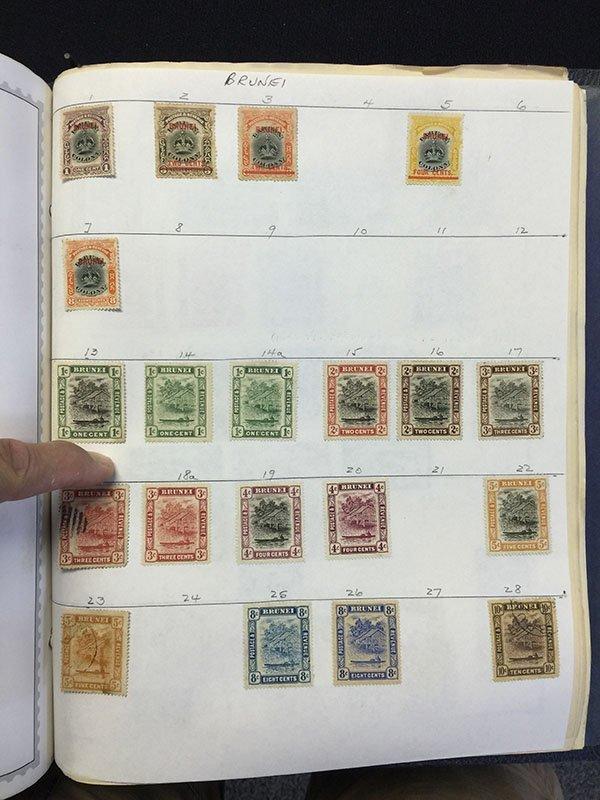 Postage Stamp Album BRAZIL Bolivia Brunei - 9