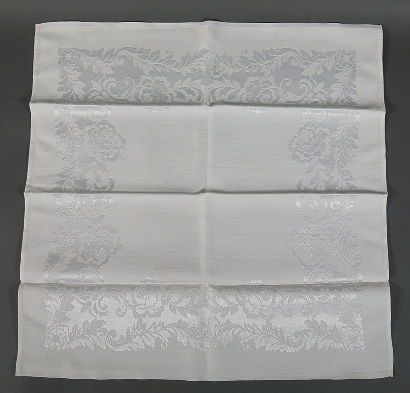 Tray lot of Damask Linens - 2