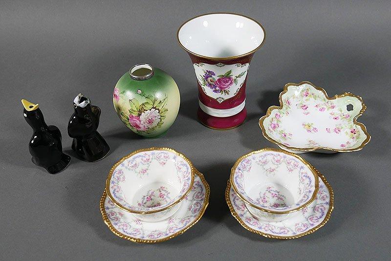 Miscellaneous Porcelain Lot, incl Limoges