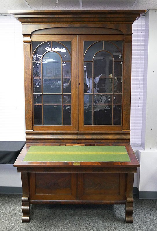 19C Mahogany Desk Used by MILLARD FILLMORE