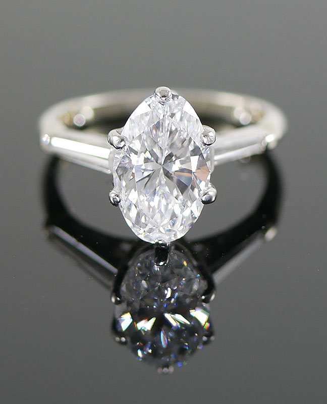 3.23 Carat DIAMOND RING, GIA Certified, appr $35k