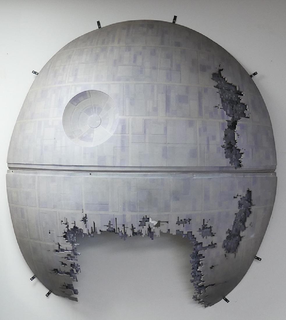Star Wars Custom 5' Death Star Wall Sculpture