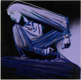 Lamentation By Andy Warhol, Screenprint From 1986