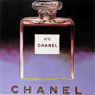 'Chanel' from 'Ads, by Andy Warhol, 1985