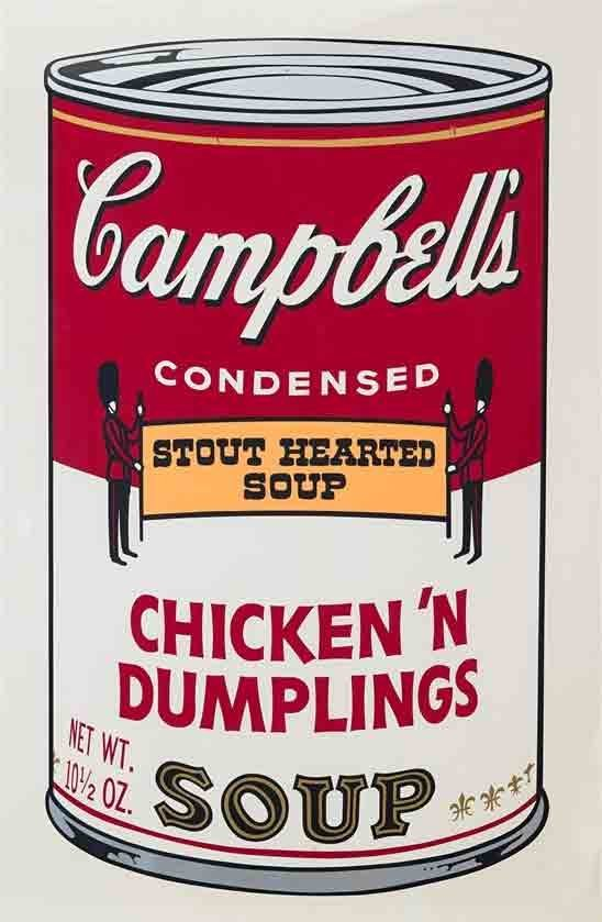 Chicken N Dumplings by Andy Warhol, 1969