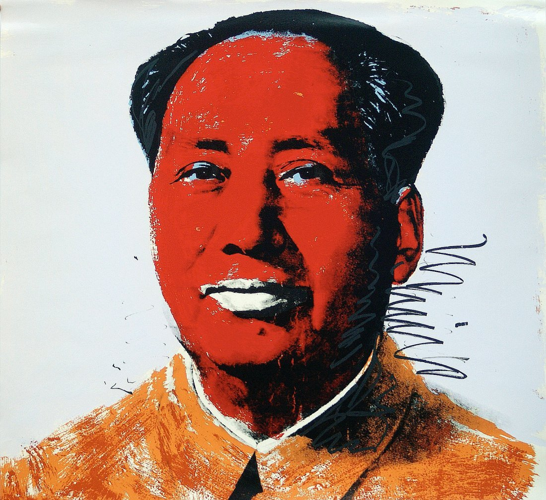 Mao, by Andy Wahol: Screenprint from 1972