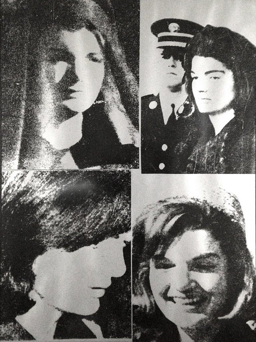 Jackie III by Andy Warhol: a ScreenPrinted in 1966
