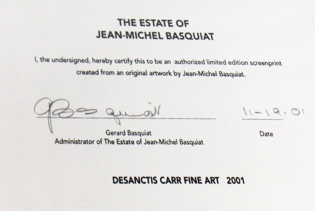 Untitled Head by Jean-Michel Basquiat: Screenprint 2001 - 2