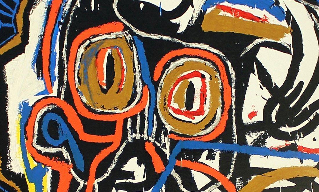 Untitled Head by Jean-Michel Basquiat: Screenprint 2001 - 5