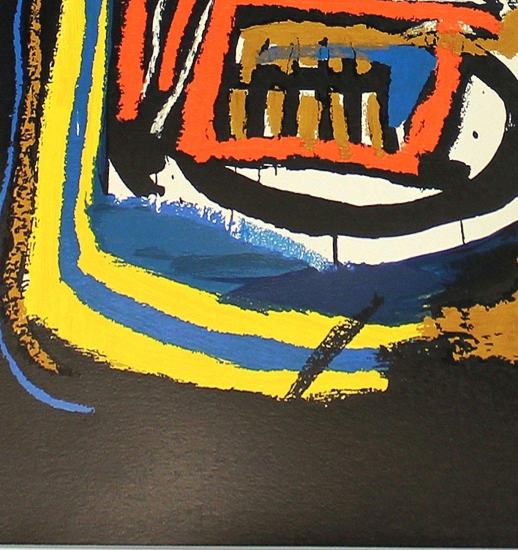 Untitled Head by Jean-Michel Basquiat: Screenprint 2001 - 6