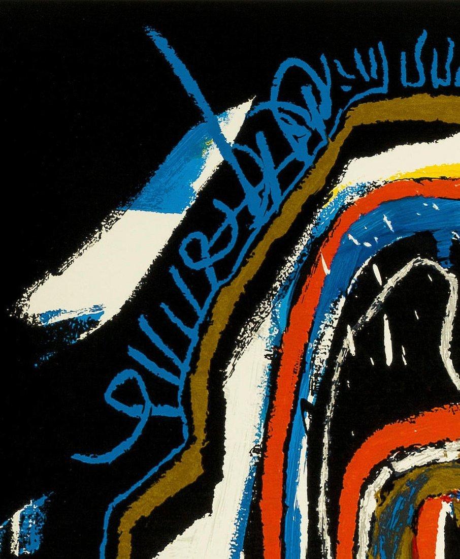 Untitled Head by Jean-Michel Basquiat: Screenprint 2001 - 9