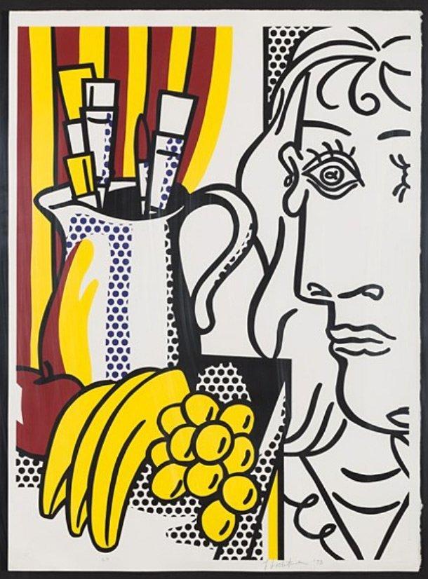 Reflections on Brushstrokes, Roy Lichtenstein: 1990