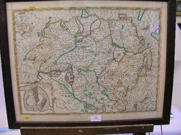 15: After John Speed (1552-1629) The Four Provinces of