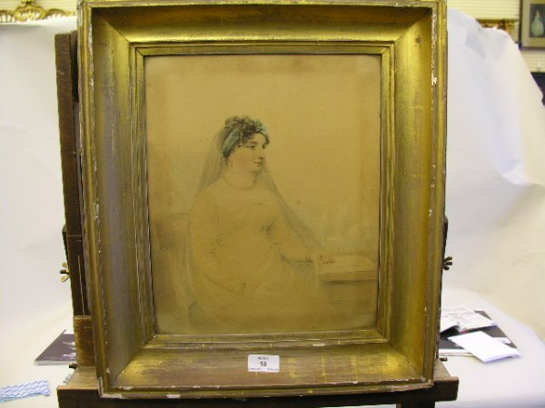 18: Slater (19th Century) Portraits of a lady and gentl