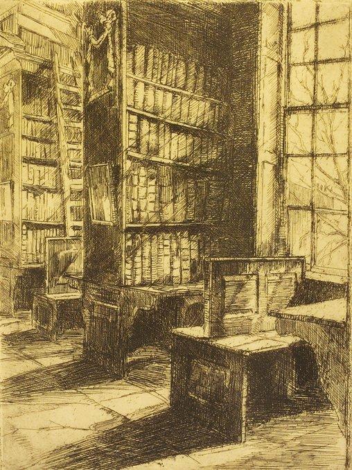 4002: Estella Solomons HRHA (1882-1968) Hoey's Court (6