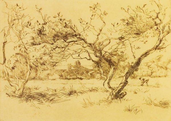 4003: Estella Solomons HRHA (1882-1968) View over Dubli