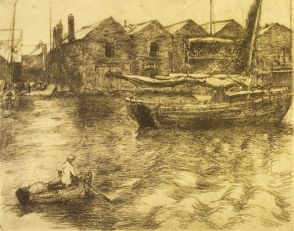 4005: Estella Solomons HRHA (1882-1968) Night in Achill