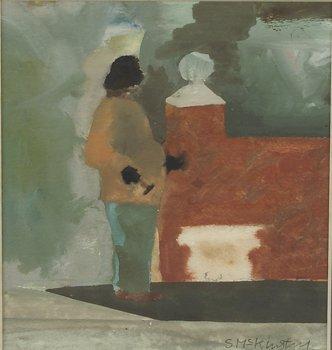 4022: Simon McKinstrey (20th Century) Garden Worker Wat
